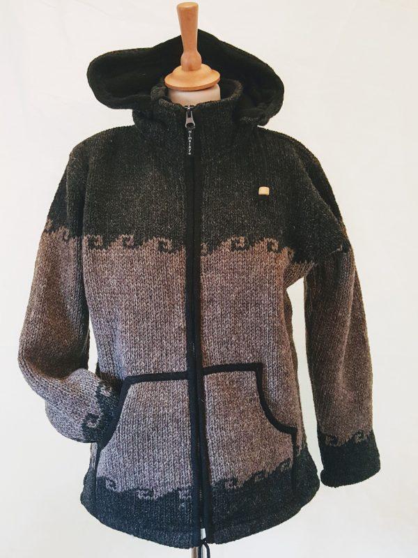wollen vest jacket nepal
