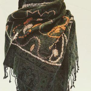 Wollen sjaal kasjmier india casjmier