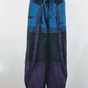 broek ariella blauw zomerbroek katoen nepal