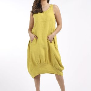 linnen en lagenlook jurk