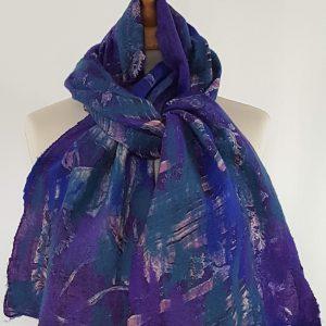 vilt zijde sjaal Nepal